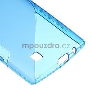 Modrý gelový obal S-line na LG G4c H525n - 5