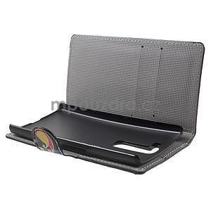 Pěněženkové pouzdro na LG G4c H525n - barevné kruhy - 5
