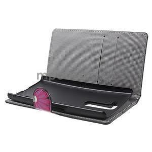 Pěněženkové pouzdro na LG G4c H525n - motýlci - 5