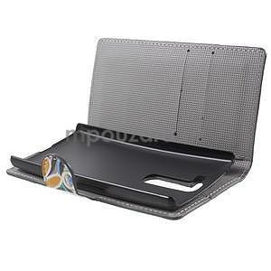 Pěněženkové pouzdro na LG G4c H525n - barevné květiny - 5
