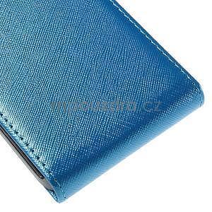 Flipové pouzdro na Samsung Galaxy J5 - modré - 5
