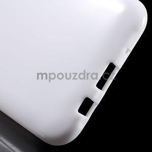 Biely gélový kryt pre Samsung Galaxy J5 - 5