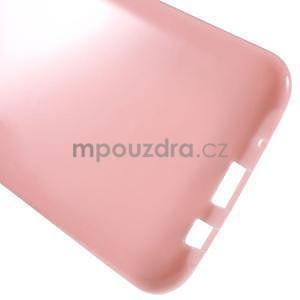 Růžový gelový kryt pro Samsung Galaxy J5 - 5