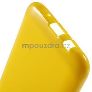 Žlutý gelový kryt pro Samsung Galaxy J5 - 5