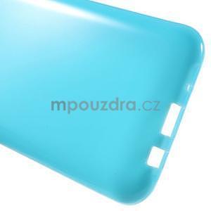 Světle modrý gelový kryt pro Samsung Galaxy J5 - 5