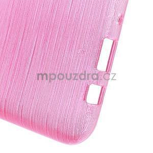 Broušený gelový obal na Samsung Galaxy J5 - rose - 5
