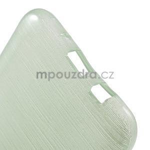 Broušený gelový obal na Samsung Galaxy J5 - azurový - 5