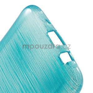 Broušený gelový obal na Samsung Galaxy J5 - tyrkysový - 5