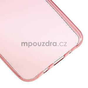 Ultra tenký slim gelový obal pro Samsung Galaxy J5 - červený - 5
