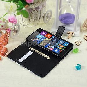 Safety pouzdro na mobil Microsoft Lumia 535 - modrý motýl - 5