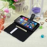 Safety pouzdro na mobil Microsoft Lumia 535 - modrý motýl - 5/5