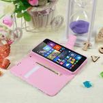 Safety pouzdro na mobil Microsoft Lumia 535 - květinová koláž - 5/5