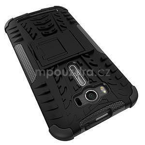 Outdoor odolný kryt se stojánkem na Asus Zenfone 2 Laser ZE500KL - černý - 5