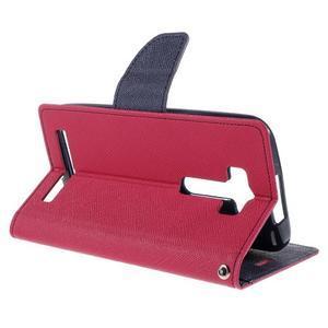 Diary stylové pouzdro na Asus Zenfone 2 Laser - rose - 5