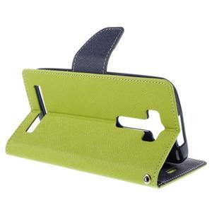 Diary stylové pouzdro na Asus Zenfone 2 Laser - zelené - 5