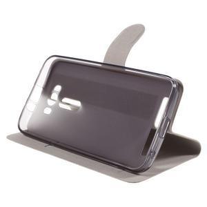 Horse pouzdro na mobil Asus Zenfone 2 Laser - hnědé - 5