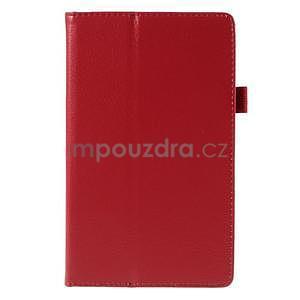 Koženkové pouzdro na tablet Asus ZenPad 7.0 Z370CG - červené - 5