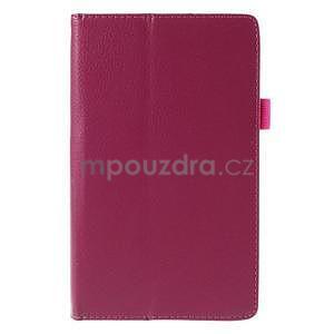 Koženkové pouzdro na tablet Asus ZenPad 7.0 Z370CG - rose - 5