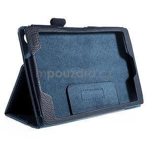 Koženkové pouzdro na tablet Asus ZenPad 7.0 Z370CG - tmavě modré - 5