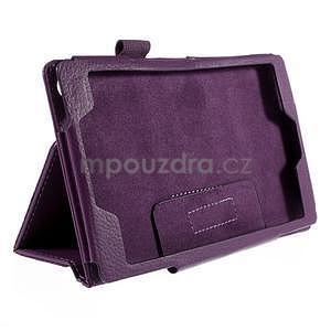 Koženkové pouzdro na tablet Asus ZenPad 7.0 Z370CG - fialové - 5