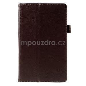 Koženkové pouzdro na tablet Asus ZenPad 7.0 Z370CG - coffee - 5