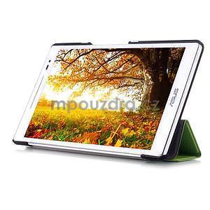 Třípolohové pouzdro na tablet Asus ZenPad 8.0 Z380C - zelené - 5