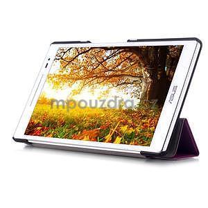 Třípolohové pouzdro na tablet Asus ZenPad 8.0 Z380C - fialové - 5