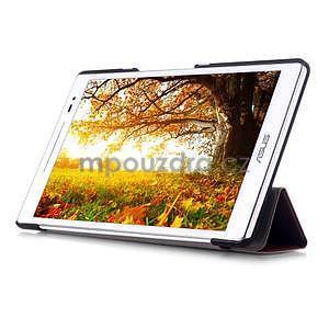 Třípolohové pouzdro na tablet Asus ZenPad 8.0 Z380C - hnědé - 5