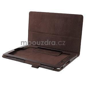 Safety polohovatelné pouzdro na tablet Asus ZenPad 8.0 Z380C - hnědé - 5