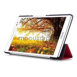 Třípolohové pouzdro na tablet Asus ZenPad 8.0 Z380C - červené - 5