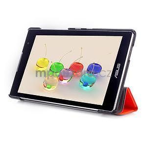 Trifold pouzdro na tablet Asus ZenPad C 7.0 Z170MG - oranžové - 5