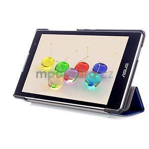 Trifold pouzdro na tablet Asus ZenPad C 7.0 Z170MG - tmavěmodré - 5