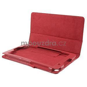 Safety koženkové pouzdro na Asus ZenPad C 7.0 Z170MG - červené - 5