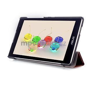 Trifold pouzdro na tablet Asus ZenPad C 7.0 Z170MG - hnedé - 5