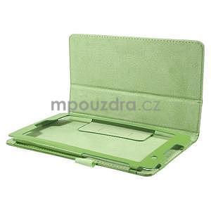 Safety koženkové pouzdro na Asus ZenPad C 7.0 Z170MG - zelené - 5