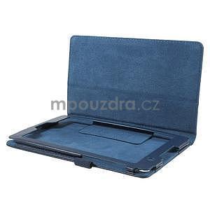 Safety koženkové pouzdro na Asus ZenPad C 7.0 Z170MG - tmavěmodré - 5
