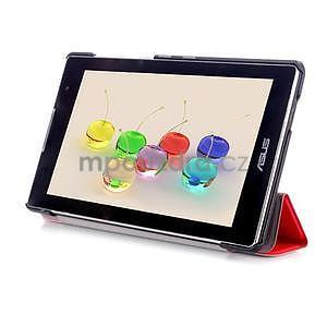 Trifold pouzdro na tablet Asus ZenPad C 7.0 Z170MG - červené - 5