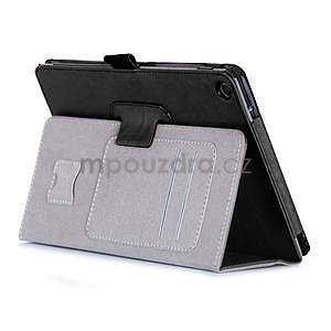 Polohovatelné koženkové pouzdro na tablet Asus ZenPad S 8.0 - černé - 5