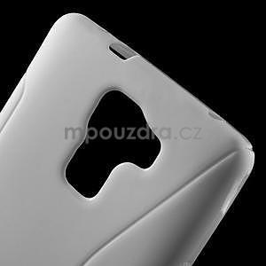 Bílý gelový kryt S-line na Huawei Honor 7 - 5