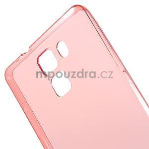 Ultra tenký obal na Huawei Honor 7 - červený - 5