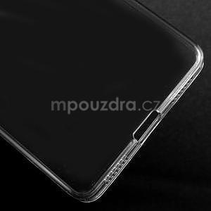 Transparentní gelový obal na telefon Honor 7 - šedý - 5