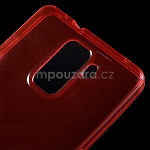 Transparentní gelový obal na telefon Honor 7 - červený - 5