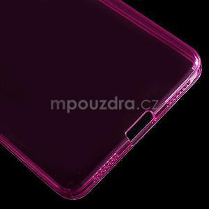 Transparentní gelový obal na telefon Honor 7 - rose - 5