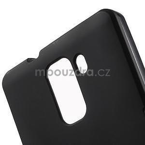 Černé gelové pouzdro na mobil Honor 7 - 5