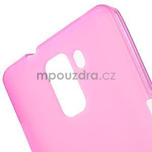 Rose gelové pouzdro na mobil Honor 7 - 5