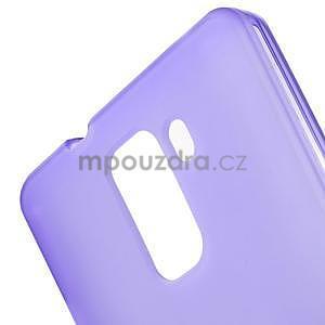 Fialové gelové pouzdro na mobil Honor 7 - 5
