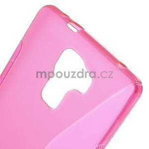 Rose gelový kryt S-line na Huawei Honor 7 - 5