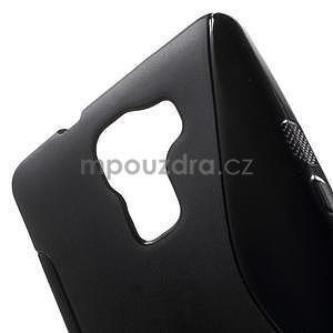 Černý gelový kryt S-line na Huawei Honor 7 - 5