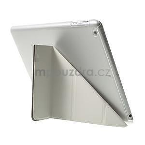 Origami ochranné pouzdro na Apple iPad Air - bílé - 5