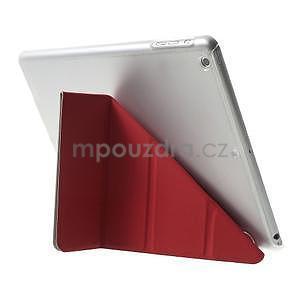 Origami ochranné pouzdro na Apple iPad Air - červené - 5